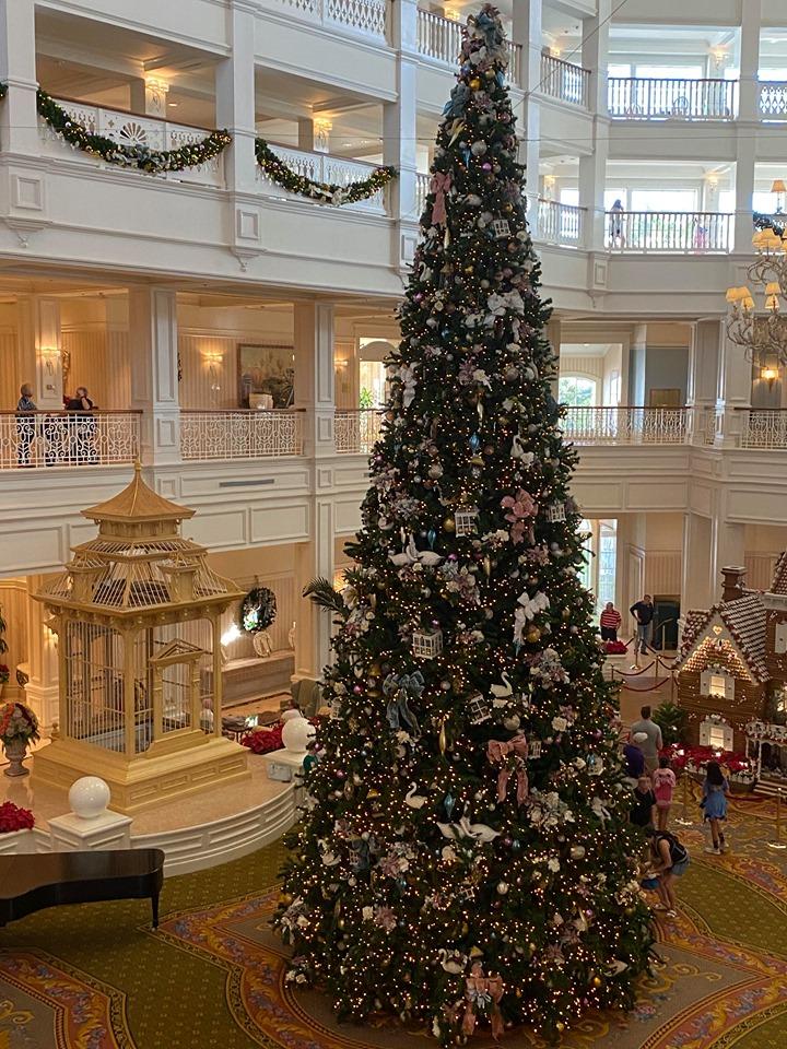 Grand Floridian Tree
