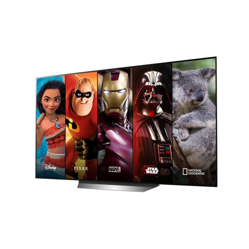 Disney+ LG Smart TV