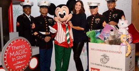Mandy Moore Toys for Tots
