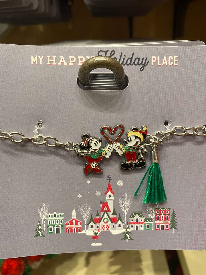 Mickey and Minnie Necklace
