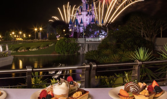 Minnie's Wonderful Christmastime Fireworks Dessert Party
