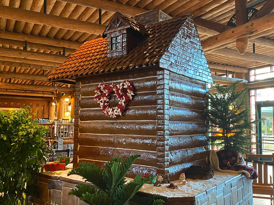 Wilderness Lodge Gingerbread