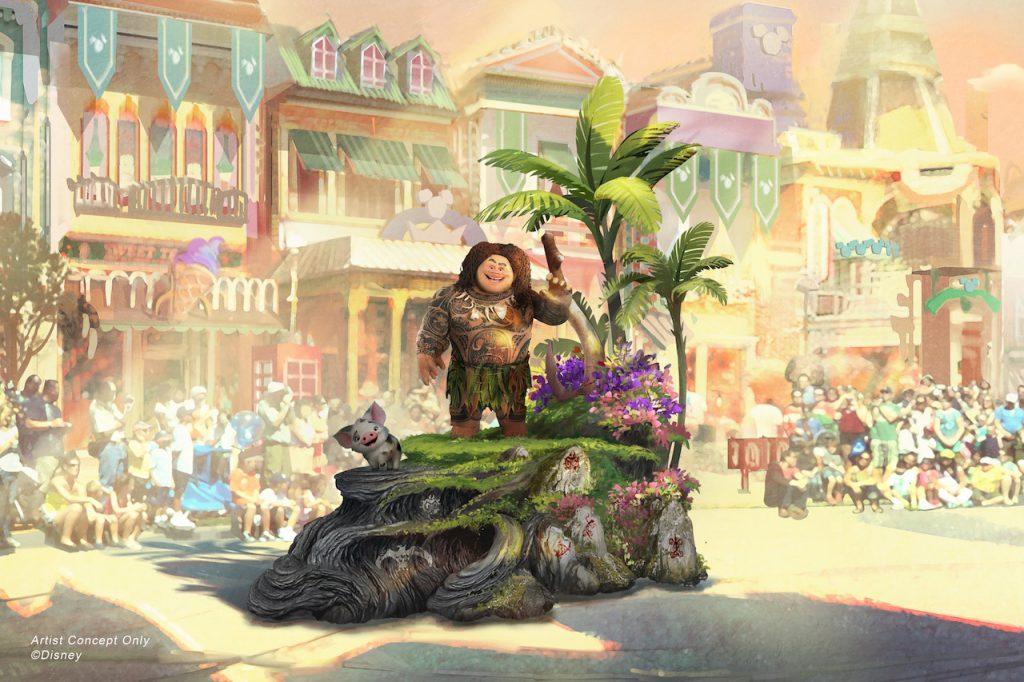 Magic Happens Disneyland Parade