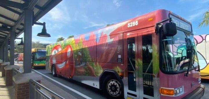 Magic Kingdom Resort Bus Stops