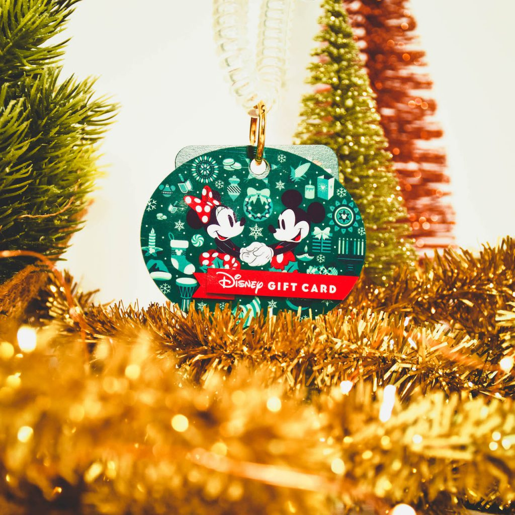 Disney holiday gift cards