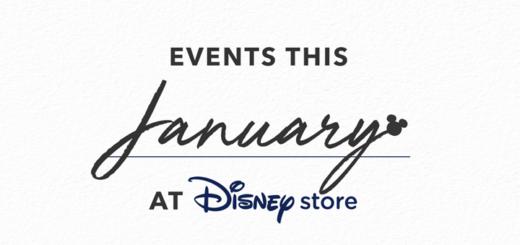 Disney Store January Events