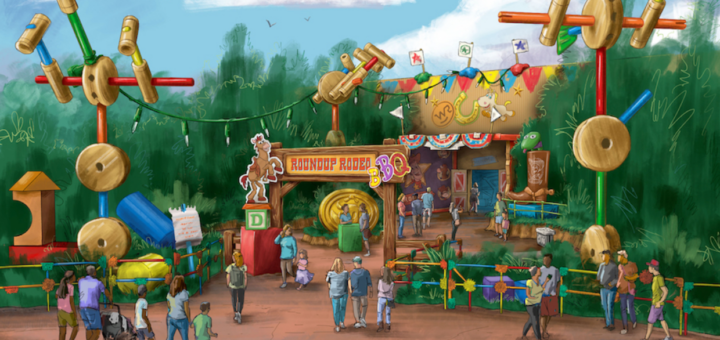 New Epcot and Hollywood Studios Restaurants