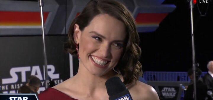 The Rise of Skywalker, Daisy Ridley