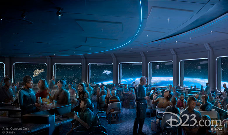 Space Restaurant Opening date