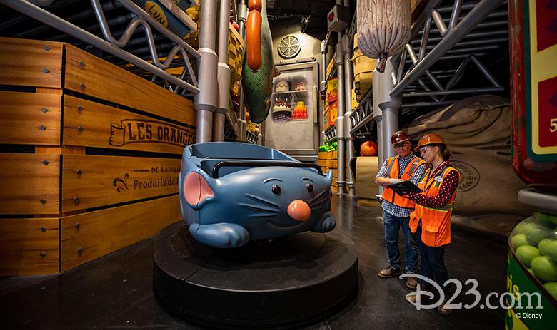RemyRemy's Ratatouille Adventure Sign