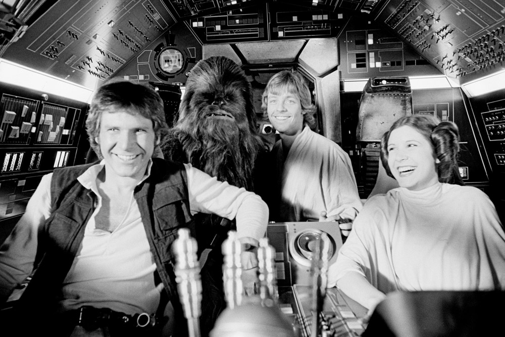 Behind The Scenes Photos Of The Star Wars Films Mickeyblog Com
