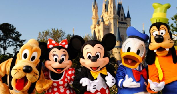 Disney Characters Parks