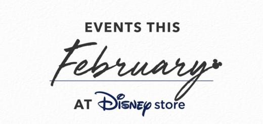 Disney Store February Events