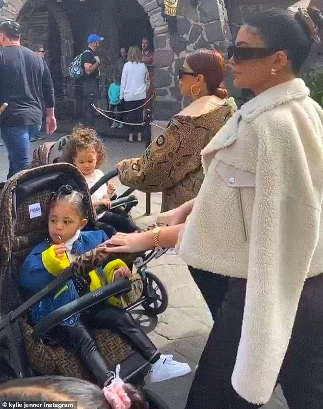 Kylie Jenner Visited Walt Disney World With Daughter ...