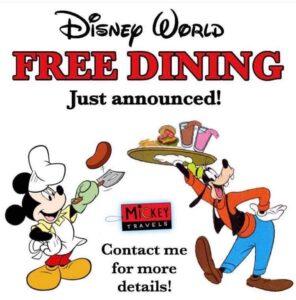 2020 Free dining