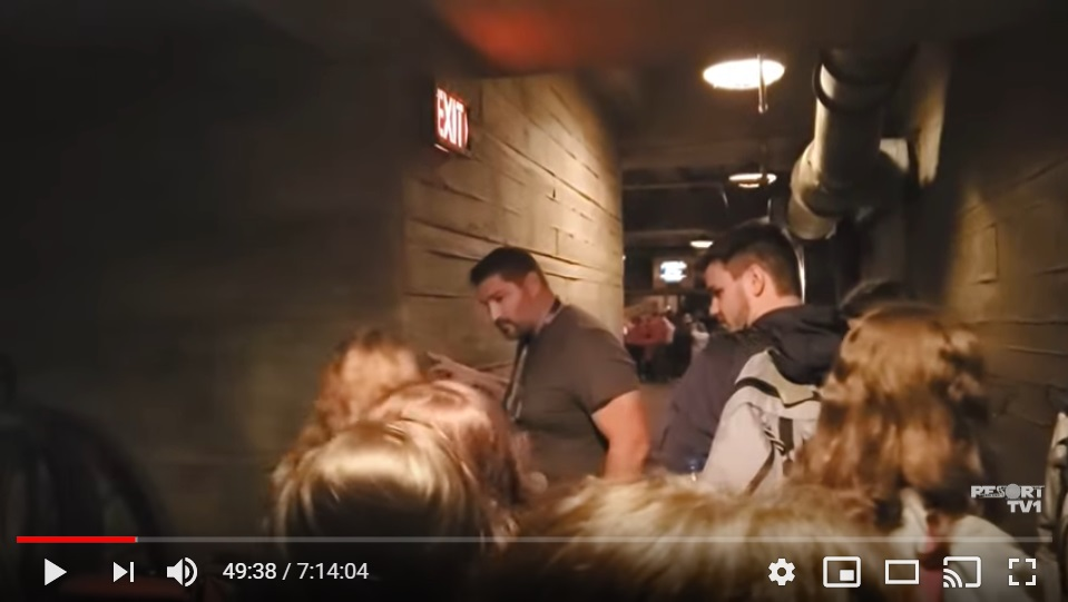 Tower of Terror backstage