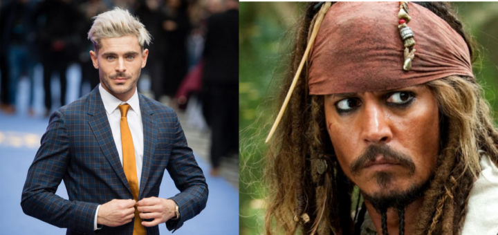 Zac Effron as Jack Sparrow