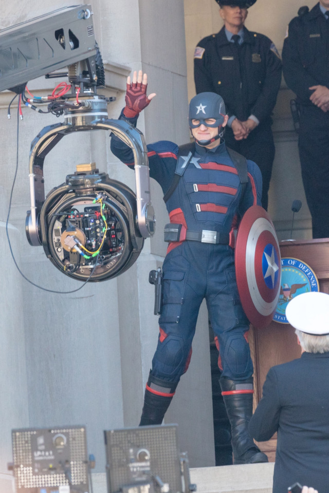 """U.S. Agent Appears In """"The Falcon And The Winter Soldier"""" Set Photos -  MickeyBlog.com"""