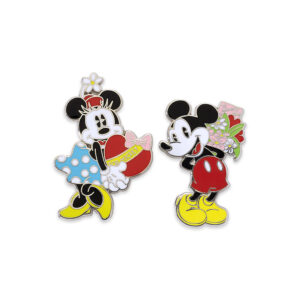 Mickey and Minnie Pins