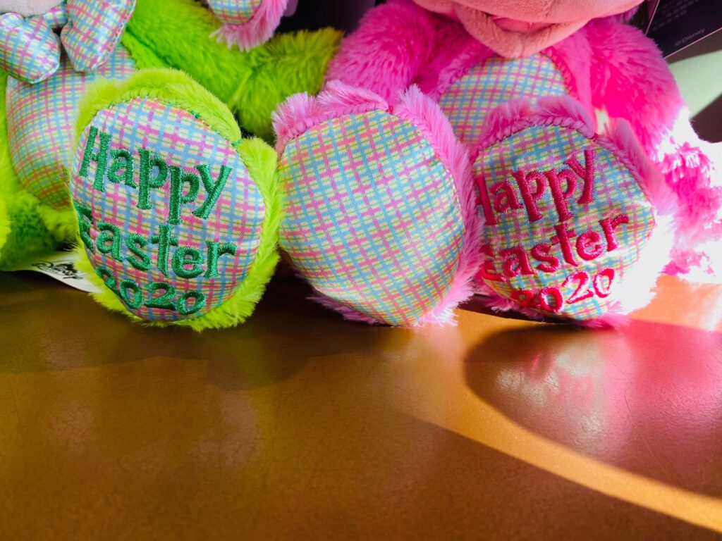 Easter Bunny Plushes