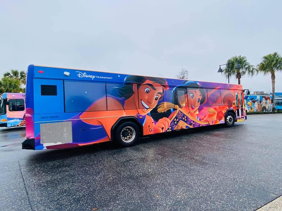 Aladdin bus