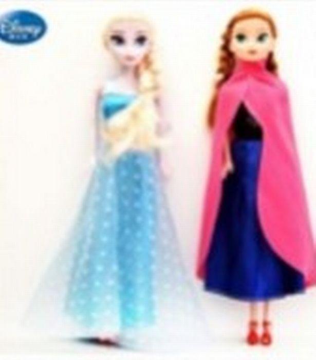 Disney Dolls Recalled