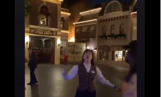 Disneyland Fire