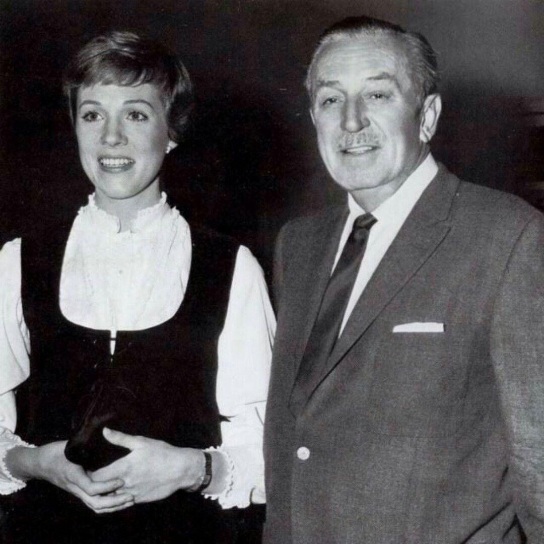 Julie Andrews Walt Disney