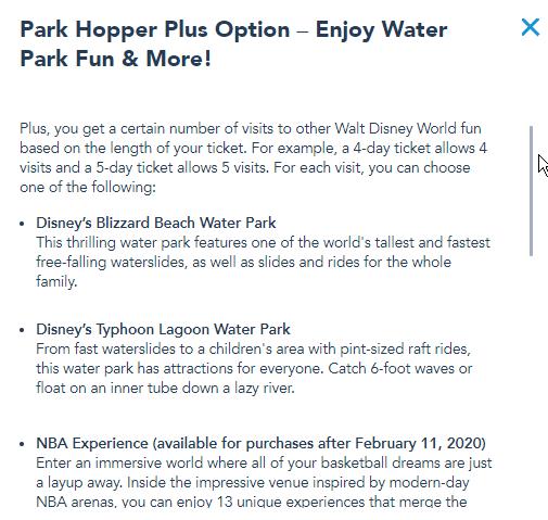 Park Hopper Plus