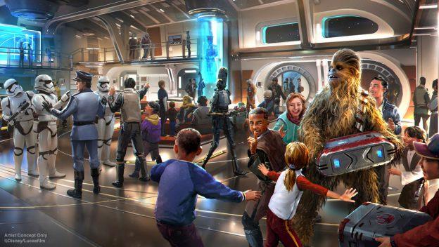 Star Wars Galactic Star Cruiser