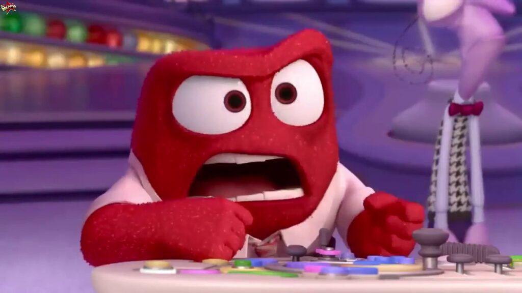 Pixar Anger