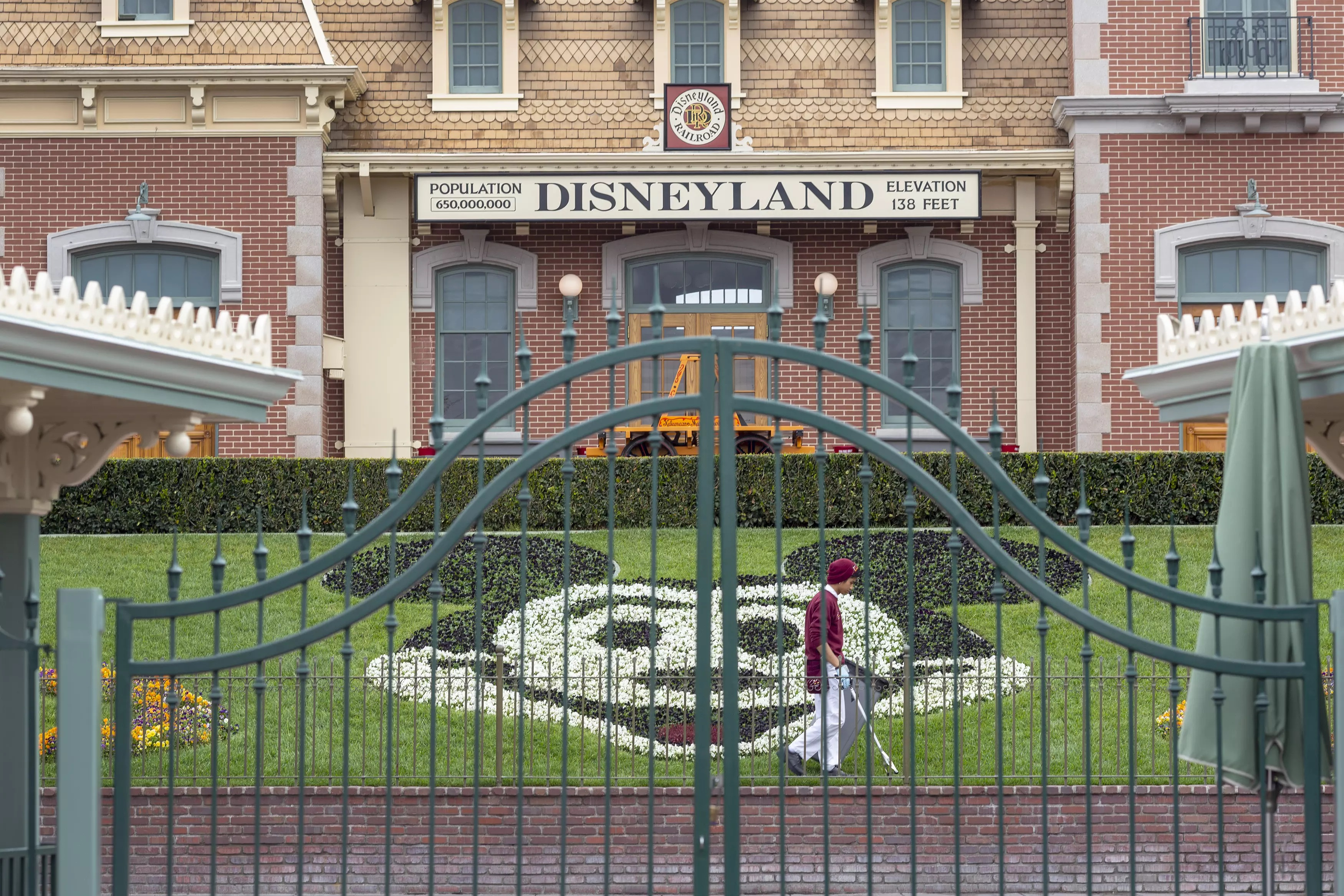 at Disneyland Resort