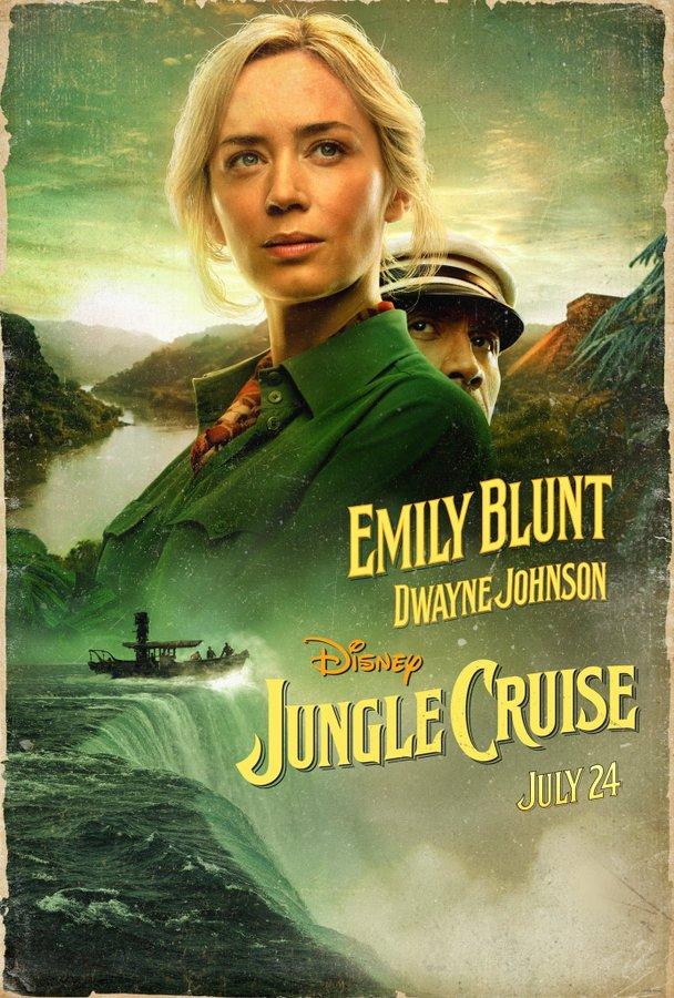 Jungle Cruise Poster War