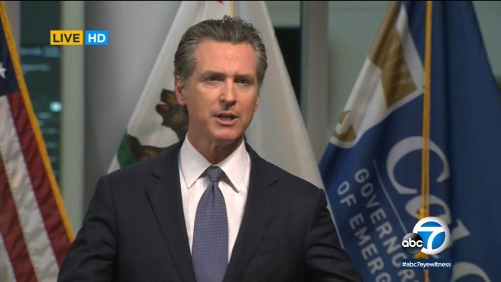Disneyland California reopening, Newsom