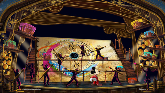 Mickey's Magical Map