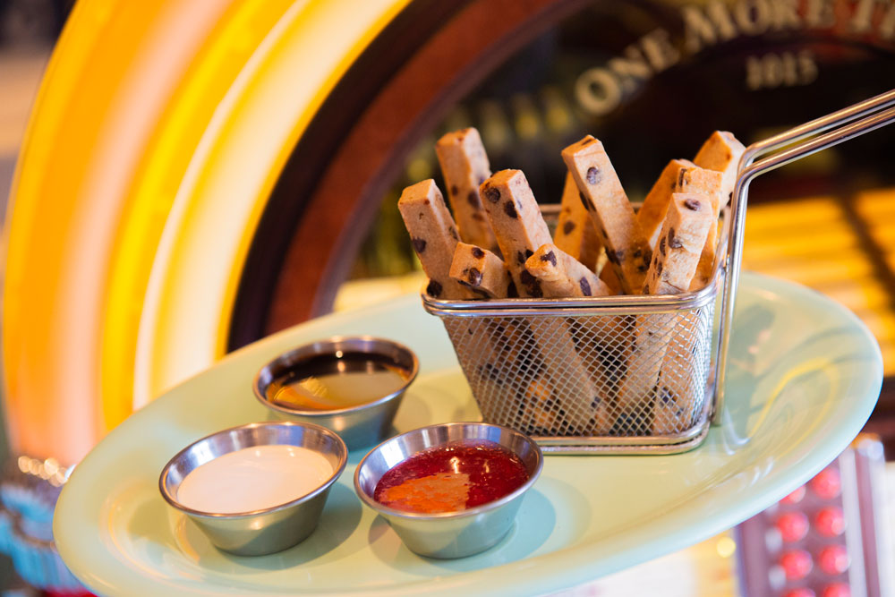 Planet-Based Cookie Fries
