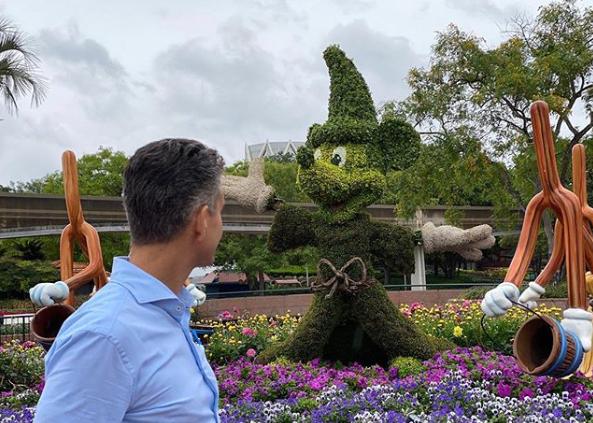 D'Amaro reopening, Disney Parks' Josh D'Amaro