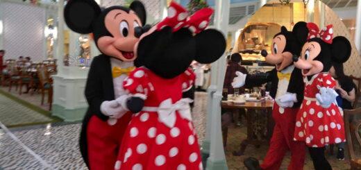Hong Kong Disneyland Character Dining