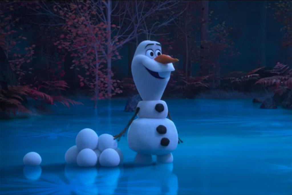 Olaf scavenger hunt