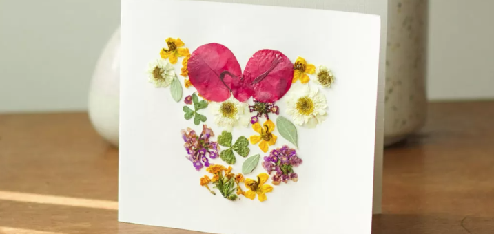 Mother's Day Pressed Flowers