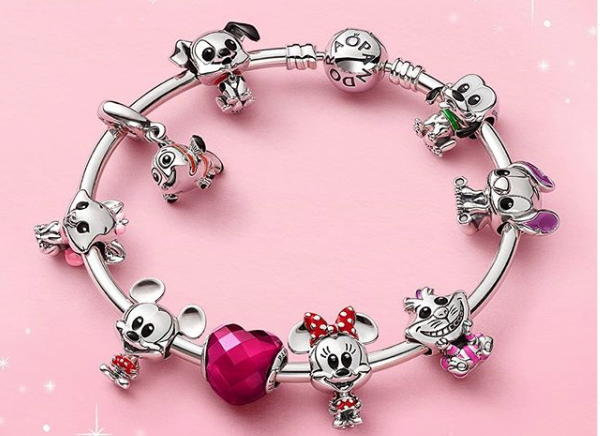 PANDORA Adds More Delightful Disney Charms To It's Collection ...