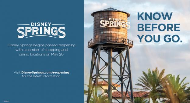 Disney Springs open