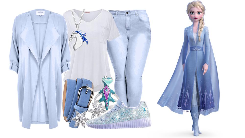 Disney Bounding Frozen