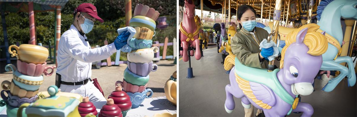 Shanghai Disneyland reopen