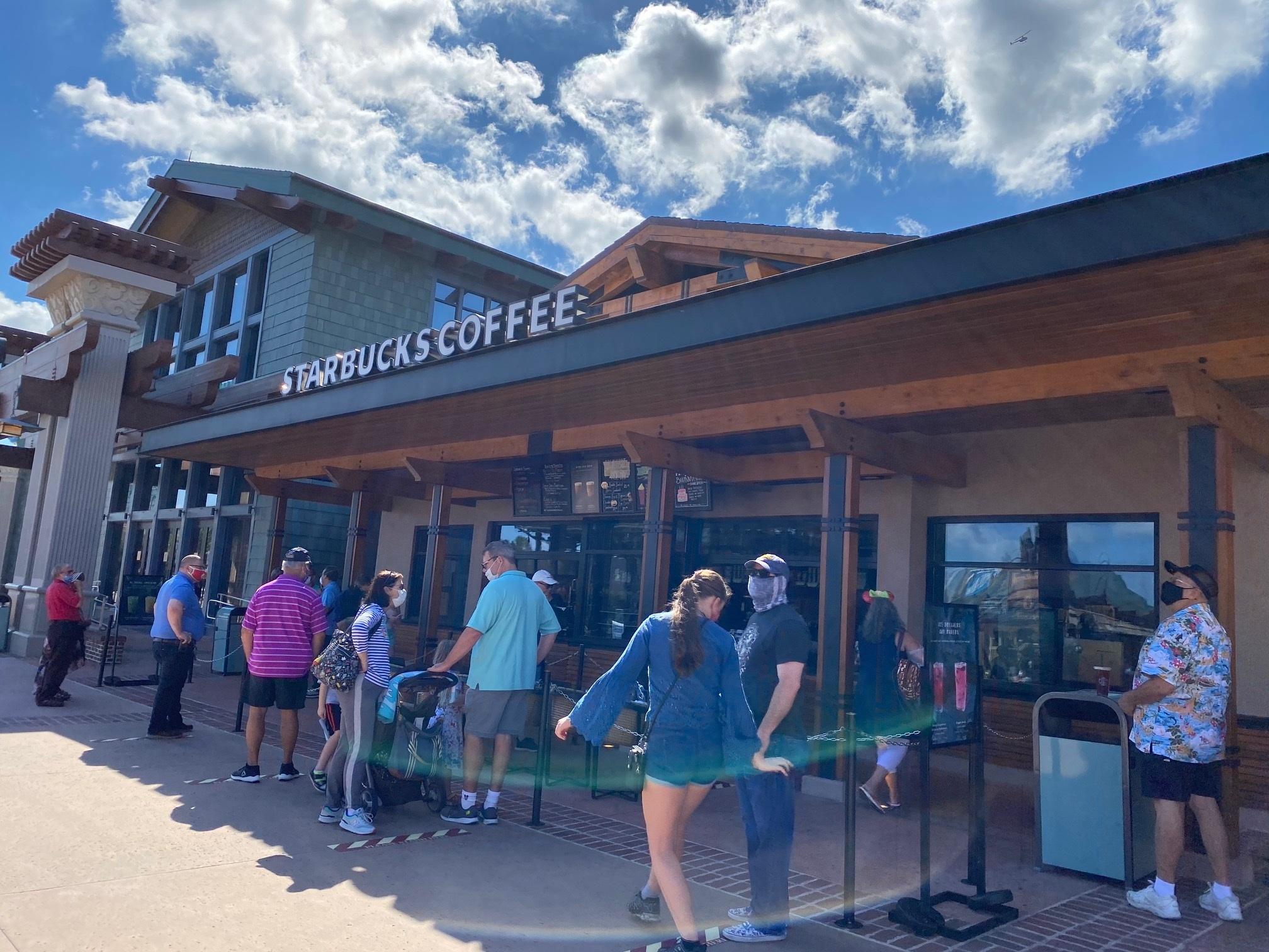 Disney Springs Starbucks
