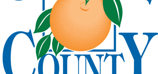 Orange County percent positive