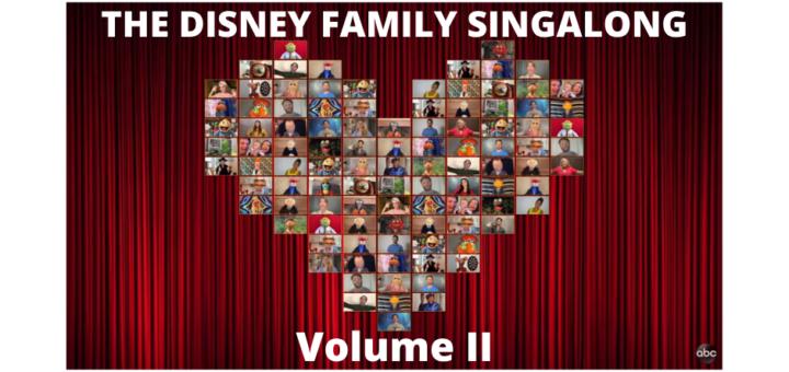 Disney Family Singalong Volume