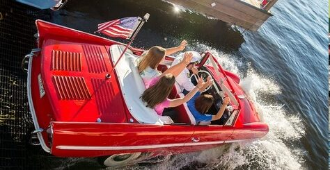 Amphicars Disney Springs