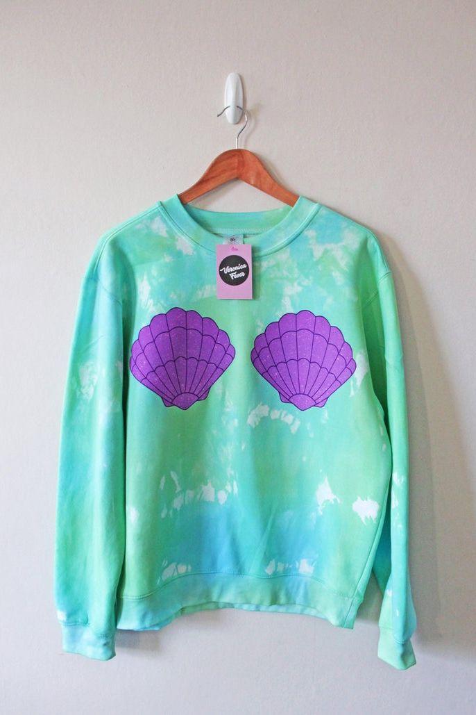 Little mermaid ariel sweater