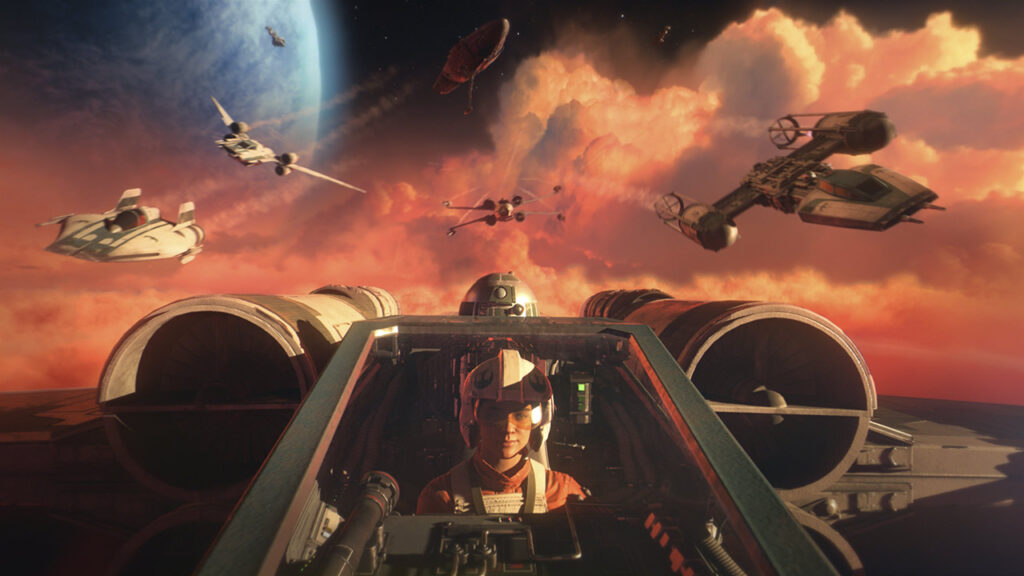 Star Wars Squadrons, The Star Wars Show